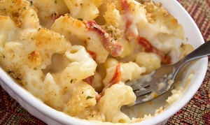 Renee Allen's Mac & Cheese & More: Southern-Style Food and Drinks at Renee Allen's Mac & Cheese & More (40% Off). Two Options Available.