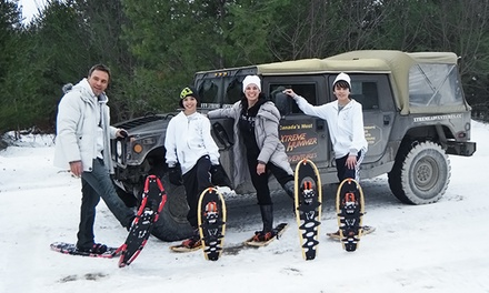 Snowshoe Tour with Hot Drinks and Optional Transportation from Xtreme Adventures (Up to 54% Off)