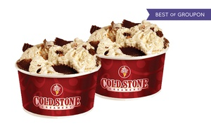 Cold Stone Creamery: $12.75 for Three Groupons, Each Good for Two Like It-Sized Ice Creams at Cold Stone Creamery ($22.74 Value)