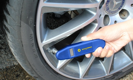 One or Two Goodyear Digital Tyre Pressure Gauges