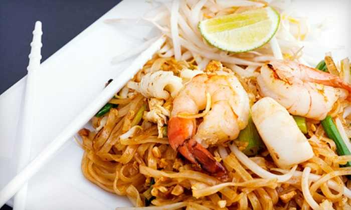 Thai Sweet Basil - Northdale: $15 for $30 Worth of Thai Cuisine and Drinks at Thai Sweet Basil