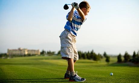 1 o 3 meses de clases de iniciación al golf para un niño desde 9,95 €