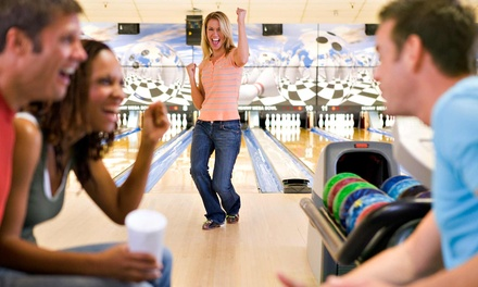 Bowling and Soda for 6 or 12 at CJ's Willow Bowling Center (Up to 72% Off)