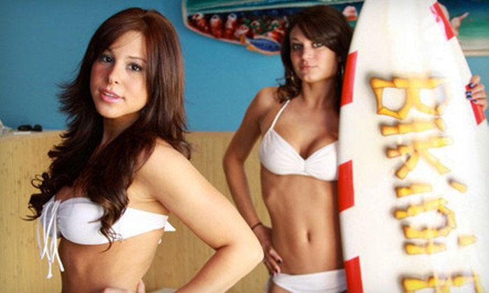 Bikini Barbers - East Long Branch,North Long Branch: One or Three Haircuts with Shampoos and Scalp Massages at Bikini Barbers in Long Branch (Up to 67% Off)