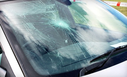 1 Windshield Chip Repair (a $60 value) - Go Glass Mobile Windshield Repair in
