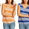 $25.99 for a Tart Collections Women's Danville Striped Top