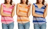 Tart Collections Women's Danville Striped Tops: $25.99 for a Tart Collections Women's Danville Striped Top ($100 List Price). Multiple Colors. Free Shipping & Returns.