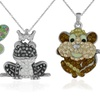 Sterling N' Ice Critter Pendants with Swarovski Elements