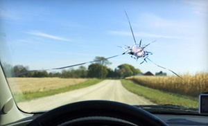 Three Windshield-chip Repairs Or $100 Toward Deductible Or Replacement At Cascade Auto Glass (up To 81% Off)