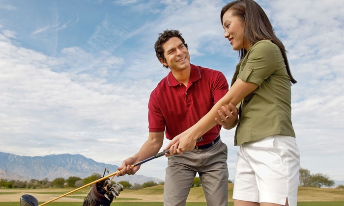 Gil Davis Golf - Marquette Park: Three or One Private Golf Lessons or One Group Golf Boot-Camp Class from Gil Davis Golf (Up to 63% Off)