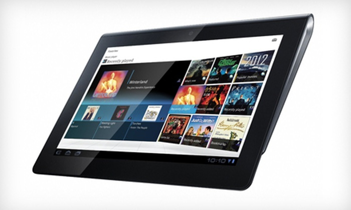 Sony 16GB Android Tablet S: $299 for a 16GB Sony Android Tablet S with Wi-Fi Capability ($399.99 List Price).
