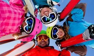 Blanca Nieve: 1, 2 o 3 días de alquiler de equipo de esquí o snowboard gama sport desde 8,95 € en Blanca Nieve
