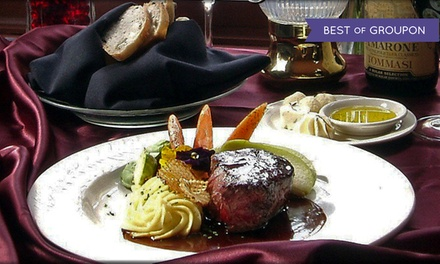 Five-Course Upscale Dinner for Two or Four at Briarhurst Manor Restaurant (Up to 42% Off)