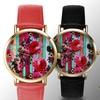 Geneva Platinum Bouquet Dial Women's Watch