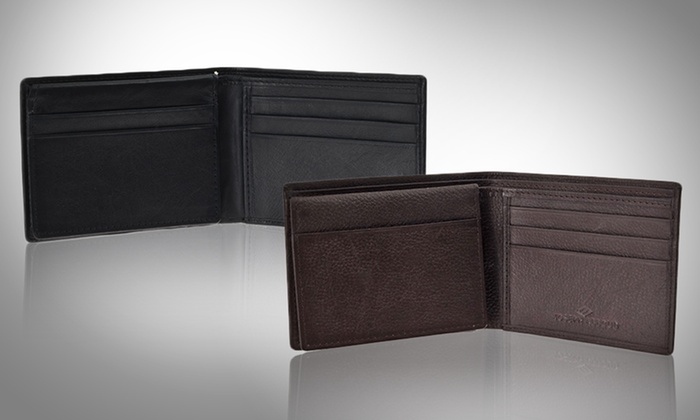 Joseph Abboud Men's Leather Wallets: Joseph Abboud Men's Leather Wallet. Multiple Designs and Colors Available. Free Returns.