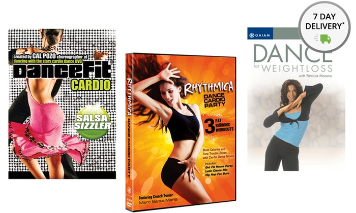 Dance Cardio 3-DVD Bundle: Dance Cardio 3-DVD Bundle. Free Shipping and Returns.