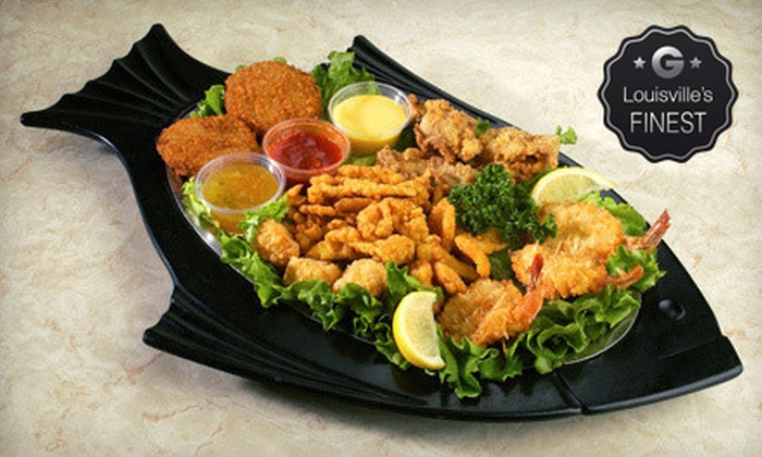 KingFish Restaurants - Multiple Locations: $10 for $20 Worth of Seafood at KingFish Restaurants