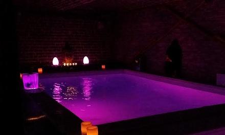 Formule SPA en duo Buddha VIP, piscine à 34°, sauna, hammam ,matelas hydro modelant & Champagne dès 99€ chez Ô Spa Danaé
