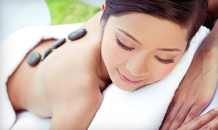 Island Touch Therapeutic Massage - Hudson: One or Three Full-Body Hot-Stone Massages with Aromatherapy at Island Touch Therapeutic Massage (Up to 56% Off)