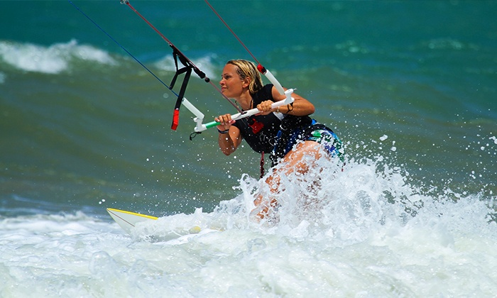 KGB Kiteboarding - Southide Estates: One-Hour Introductory Kiteboarding Course for One or Two at KGB Kiteboarding (Up to 52% Off)