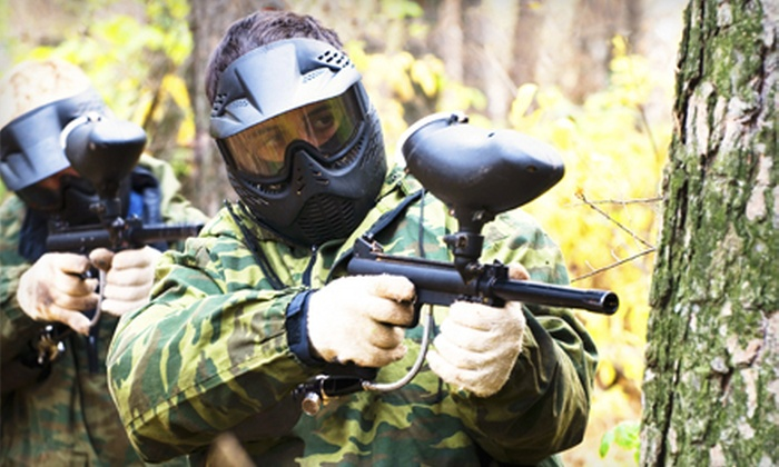 Husker Paintball Adventures - Liberty: Paintball Package for Two or Four at Husker Paintball Adventures (Up to 55% Off)