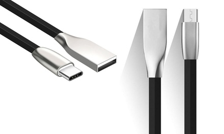1x oder 2 x Anti-Bruch-Kabel mit Lightning-, Micro-USB- oder USB-C-Anschluss (Stuttgart)