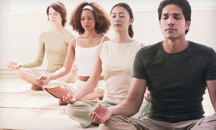 The Yoga Spa - Malta Avenue: 10 or 20 Hot-Yoga Classes at The Yoga Spa (Up to 53% Off)
