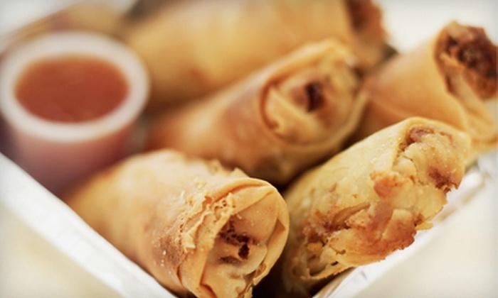Unicorn Pan Asian Cuisine - Downtown: Pan-Asian Food at Unicorn Pan Asian Cuisine (Up to 53% Off). Two Options Available.