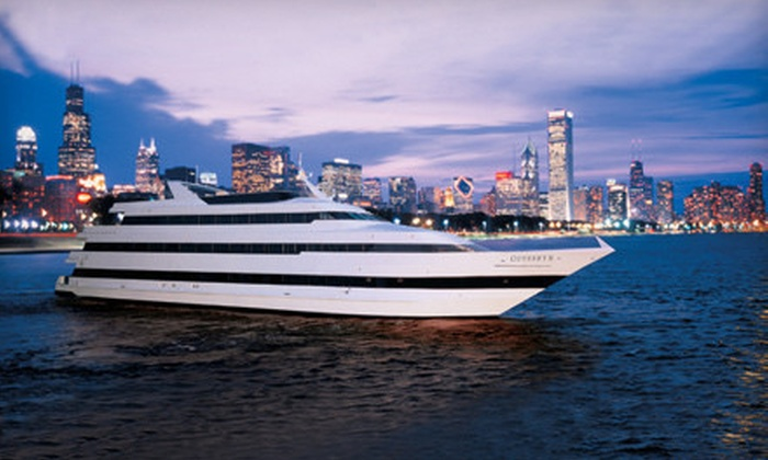 Odyssey Cruises - Near North Side: $69 for Chicago Skyline Dinner Cruise from Odyssey Cruises (Up to $135.86 Value)