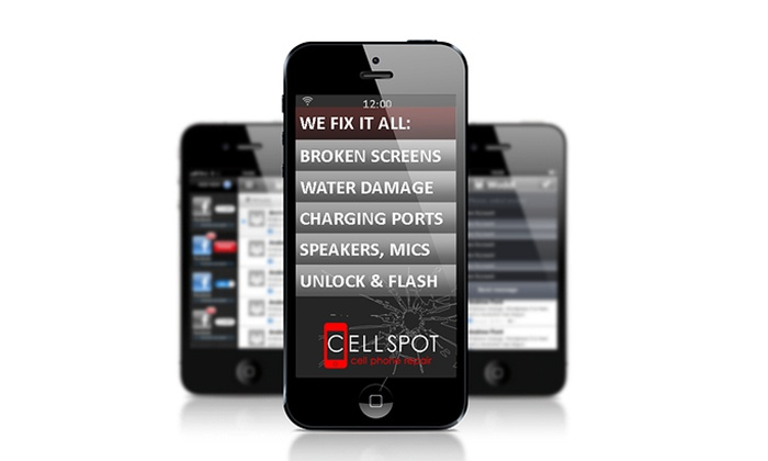 CellSpot Cellphone Repair - Tustin: Screen Repair for an iPhone or Samsung Galaxy Device at CellSpot Cellphone Repair (Up to 57% Off)