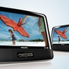 """Philips Portable 9"""" Dual-Screen DVD Player"""