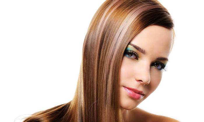 Lavender Salon - Amanda Wells - Rocklin: Haircut with Optional Highlights or Color or Keratin Treatment at Lavender Salon - Amanda Wells (Up to 56% Off)