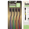 4-Pack of Bamboo-Bristle Toothbrushes