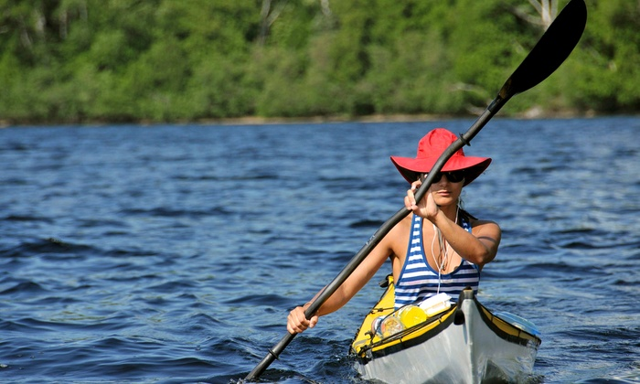 Wine Tasting Journeys - Danielsville: Kayak or Canoe Tour with Wine Tasting and a Quick Lunch for One or Two from DeWine Water Sports (Up to 66% Off)