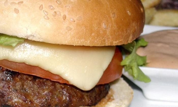 Big Shotz Tavern - Statesville: Two-Course American Dinner for Two or Four at Big Shotz Tavern (Up to 60% Off)
