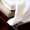 Up to 86% Off a Monogrammed Towel Set