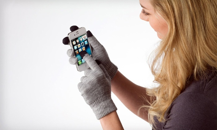 Two-Pack of Touchscreen-Compatible Gloves: Two-Pack of Touchscreen-Compatible Gloves. Multiple Colors Available. Free Returns.