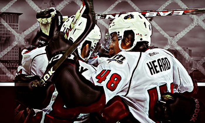Lake Erie Monsters - Quicken Loans Arena : Lake Erie Monsters Hockey Game at Quicken Loans Arena on October 4, 5, 11, or 12 (Up to 63% Off)