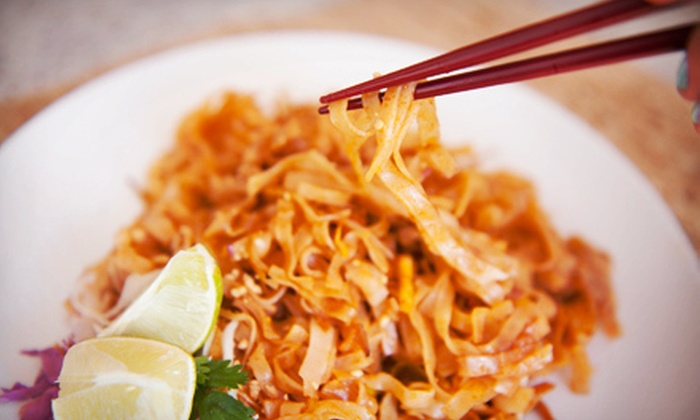 The King and I - Buffalo: Thai Food for Two or Four at The King and I (Up to 55% Off)