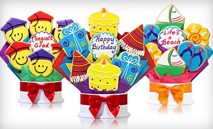 Cookie Bouquets from Corsoa€™s Cookies (Up to 63% Off). Two Options Available.