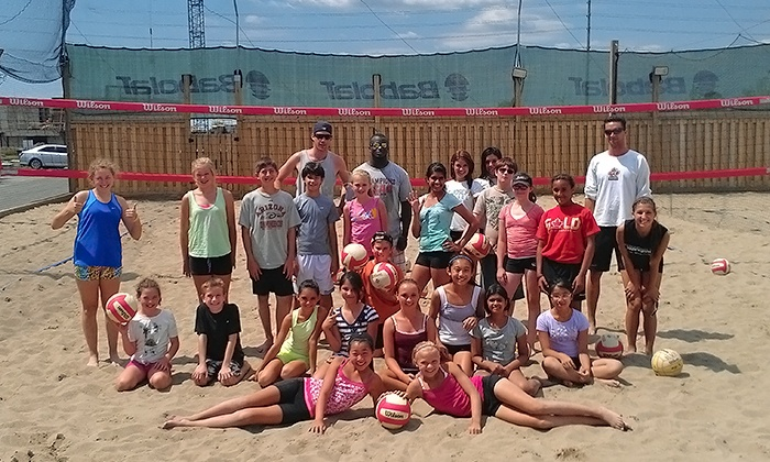 EVP - Erin Mills: Seven Weeks of Youth Beach Volleyball, or One Week Summer Camp at EVP (Up to 70% Off)