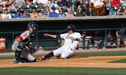 Charleston RiverDogs Baseball Game for Two at Joseph P. Riley, Jr. Park (Up to 64% Off)