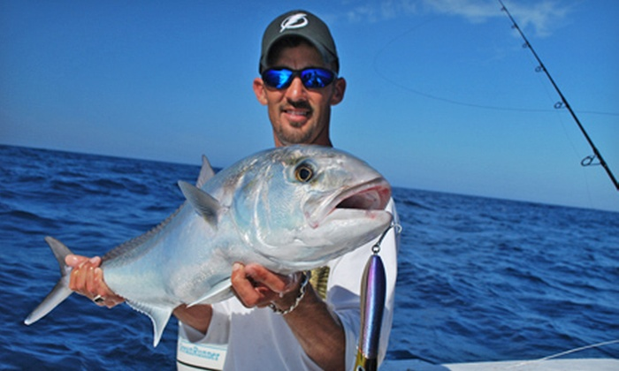 Kingdom Business Charters - Holmes Beach: Four- or Six-Hour Fishing Trip for Two at Kingdom Business Charters (Up to 77% Off)