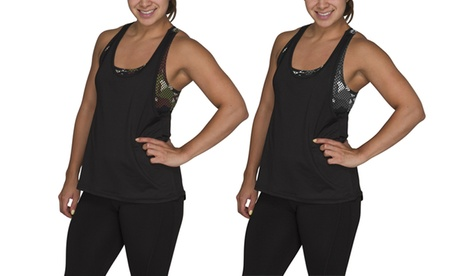 2-in-1 Women's Camo Activewear Tank Top with Built-In Bra ef4e486c-7531-4f5f-bc74-26439968cf98