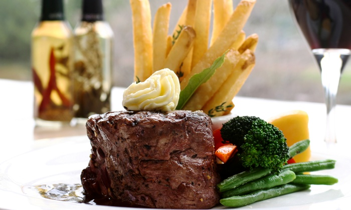 Brasserie 214 at The Inn at New Hyde Park - New Hyde Park: European Bistro Cuisine for Two or Four at Brasserie 214 at The Inn at New Hyde Park (Up to 51% Off)