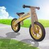 """Tour de France 12"""" Kids' Wooden Running and Balance Bike"""
