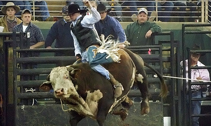 Silver Spurs Labor Day Rodeo - South and East Osceola: Silver Spurs Rodeo for Two or Four on September 1 or 2 at 2 p.m. at Kenansville Silver Spurs Arena (Up to 55% Off)