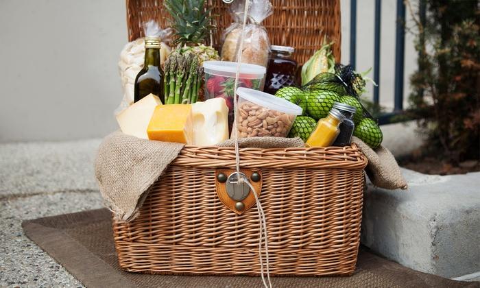 Garden Vineyards - Hillsboro: $31 for a Farmer's Basket Take-Home Meal at Garden Vineyards ($50 Value)