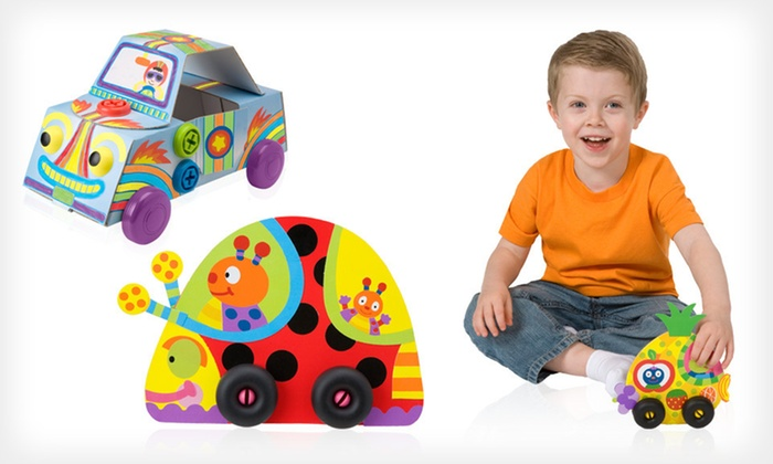 Alex Build-a-Car and Silly Roller Bundle: $13 for an Alex Build & Roll Car and Silly Roller Bundle ($31.90 List Price)