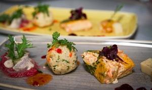Schluck & Happen Restaurant Cafe Weinbar: Happen Platte für 2 oder 4 Personen im Schluck & Happen Restaurant Cafe Weinbar (bis zu 43% sparen*)